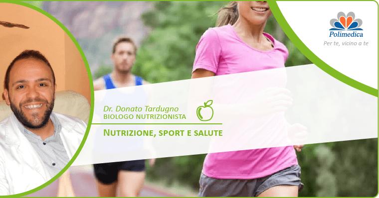 nutrizione per lo sport - tardugno - nutrizionista- melfi -basilicata